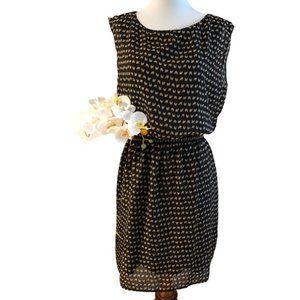 Jessica Howard, Black Elastic Waist Dress